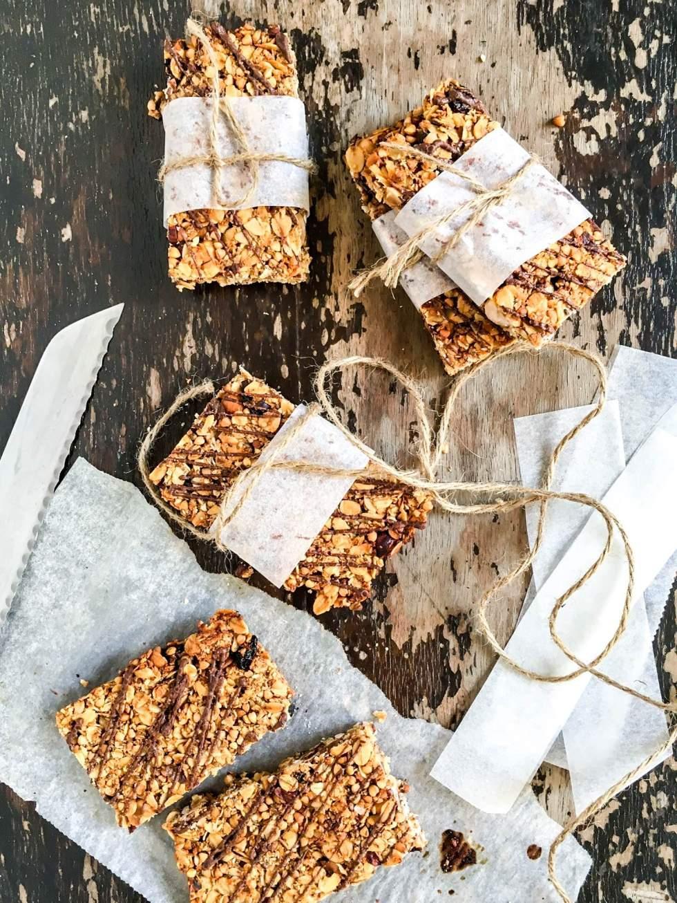 Healthy-granola-bars