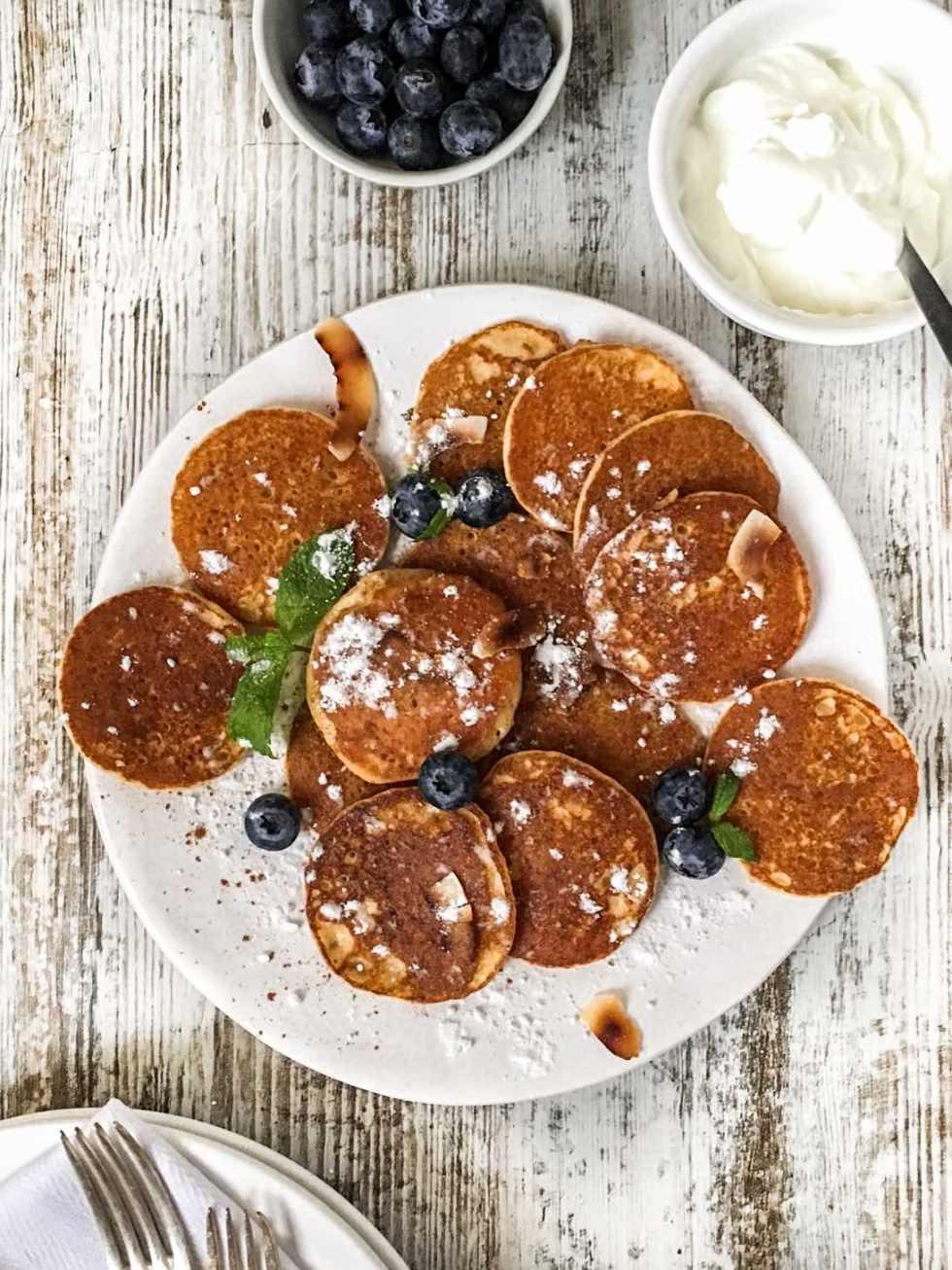 Amaranth Pancakes