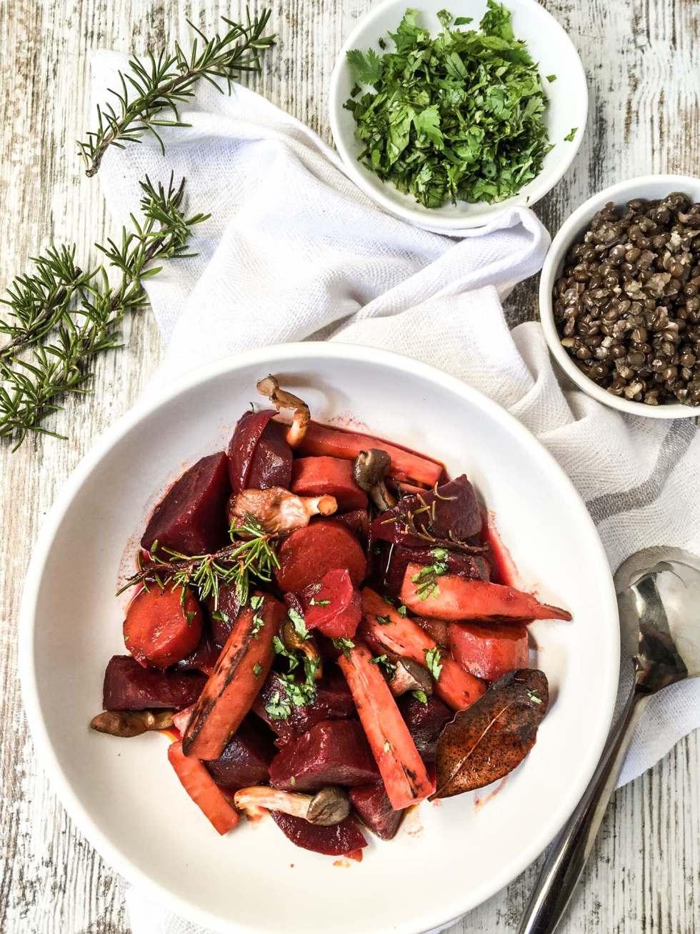 Root Vegetables Stew