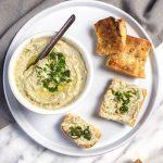 Hummus de judía mung