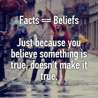 Belief Is Not Truth
