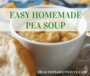 Easy Homemade Pea Soup Recipe