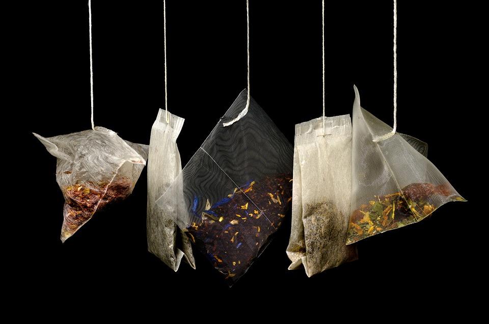 Small tea bags