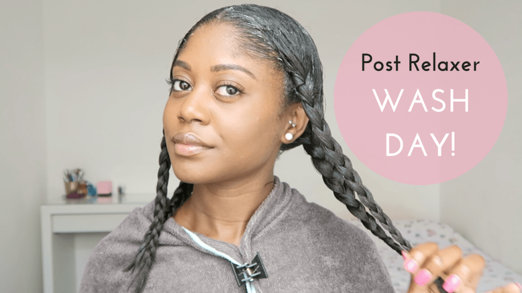 Healthy Hair Junkie | Post Relaxer Wash Day