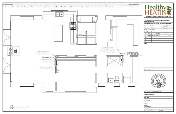 Sample set #3 design, drawings and specifications for