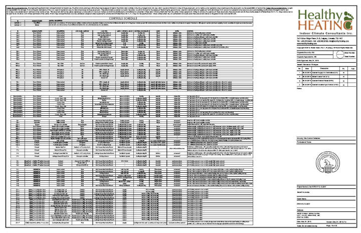 Air System Schematic Sample Set 4 Design Drawings And Specifications For