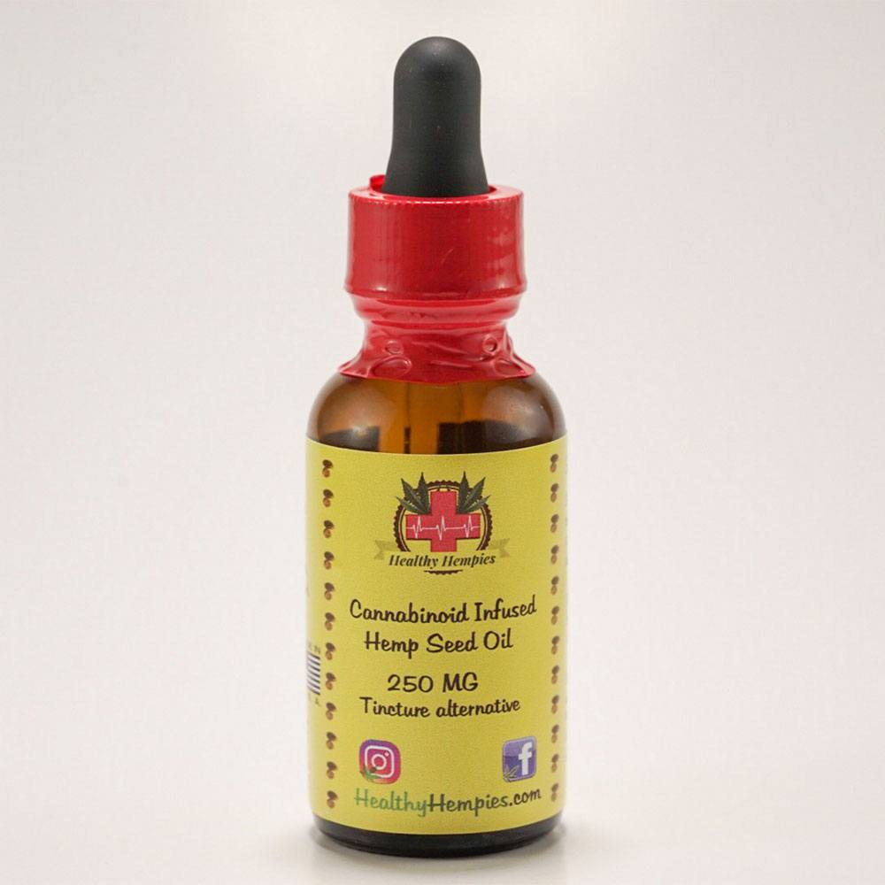 250 mg tincture front