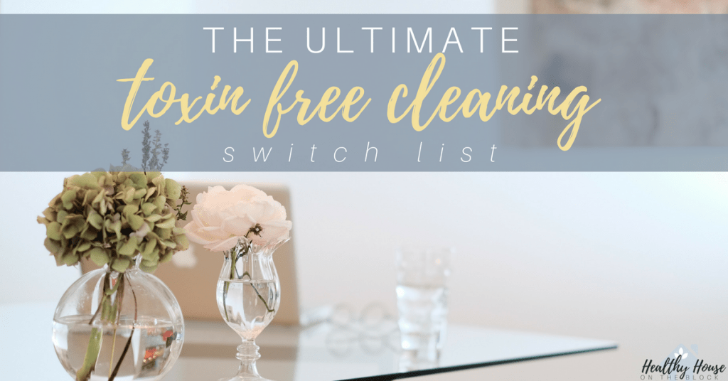 how to find safe cleaning products