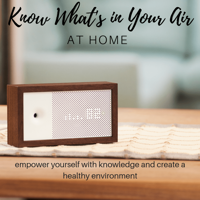 awair indoor air quality monitor