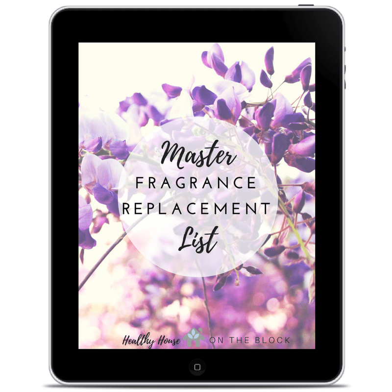 remove synthetic fragrances