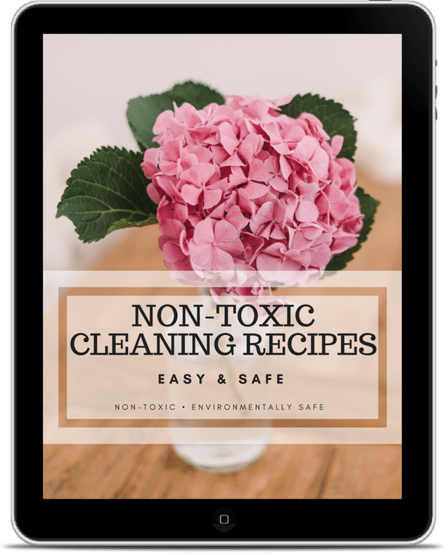 remove cleaning toxins with non toxic cleaning products