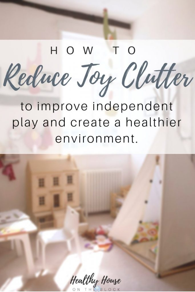 how to reduce toy clutter