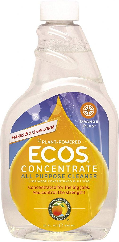 ecos concentrated green cleaning product