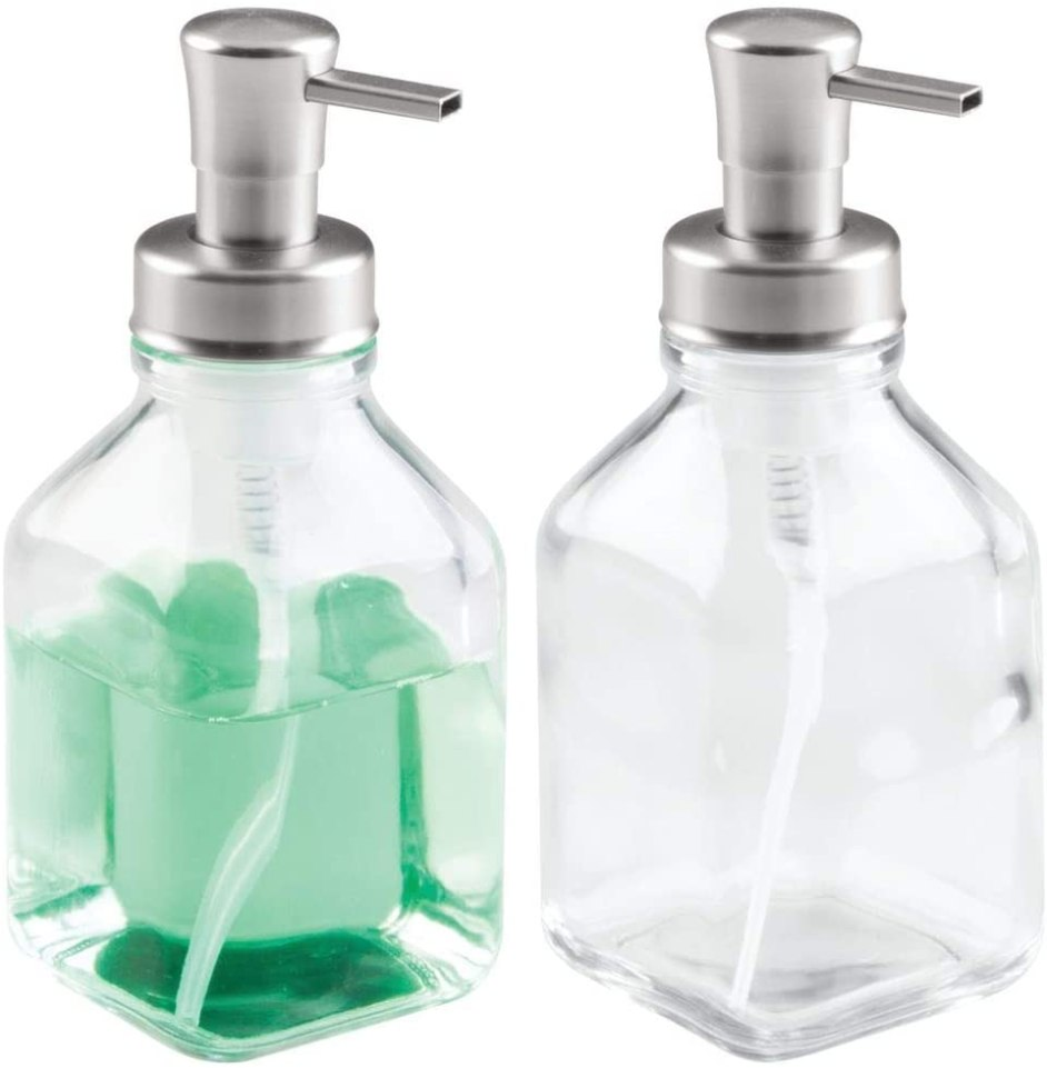 modern foaming hand soap pump