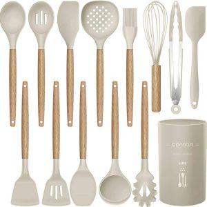 High heat food grade silicone kitchen utensils