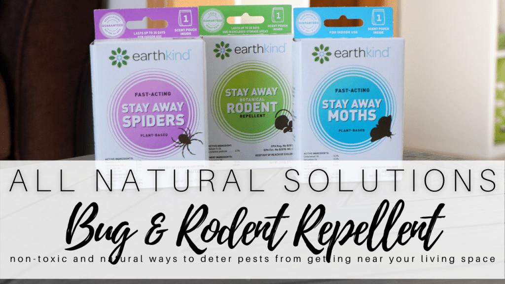 Natural Bug Repellent and Natural Mice Repellent