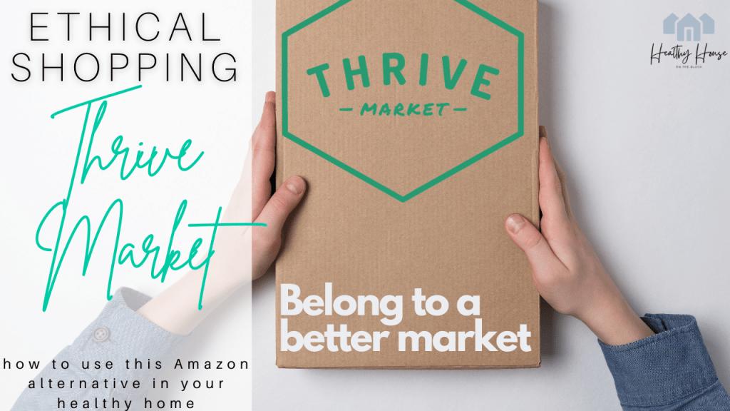thrive market amazon alternative and ethical shopping partner