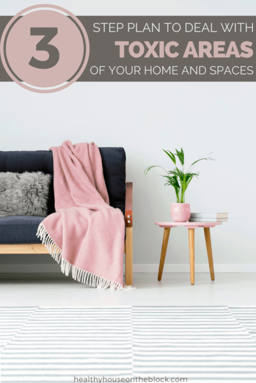 3 step plan to deal with toxic areas of your home