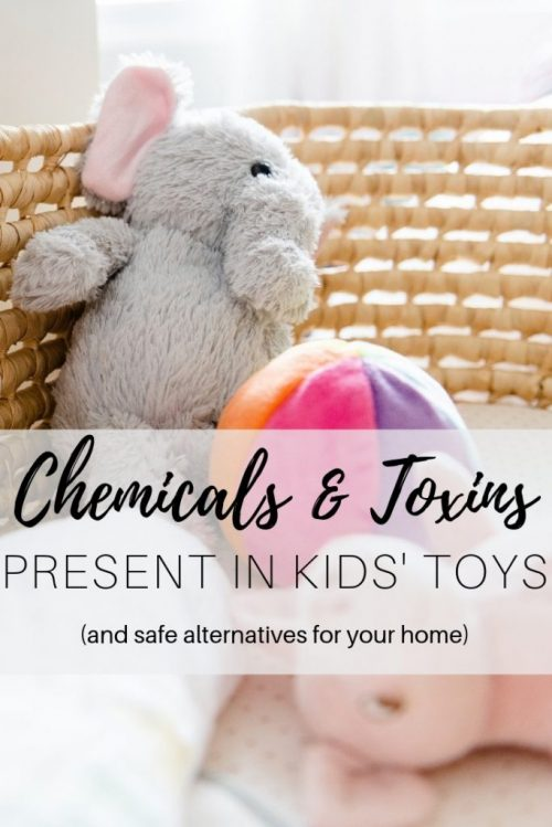Chemicals & Toxins present in kids toys
