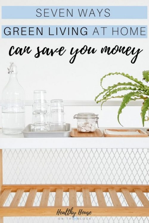 SEVEN WAYS GREEN LIVING AT HOME