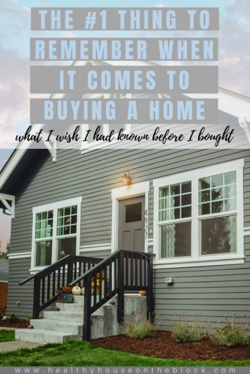 best advice for buying a home