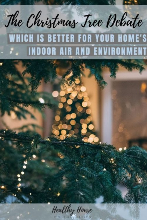 best christmas tree for indoor air quality
