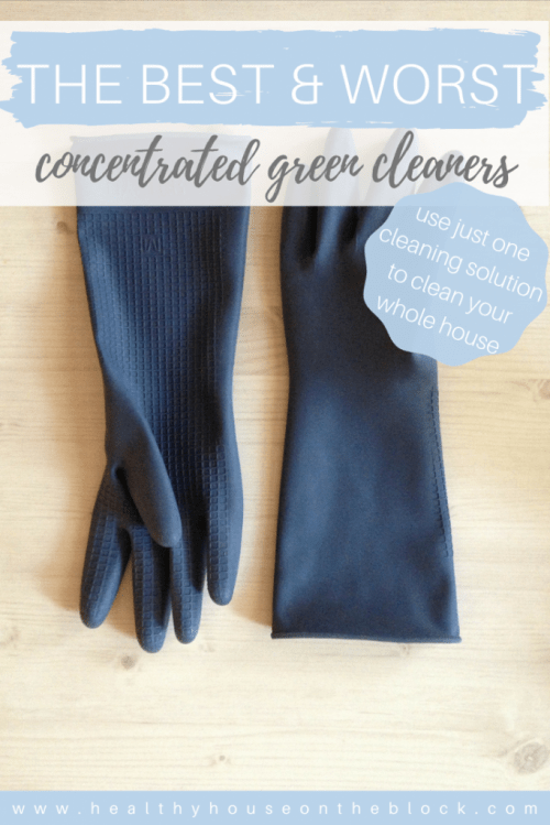 best concentrated green cleaner