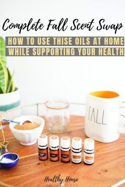 fall essential oil recipes and blends