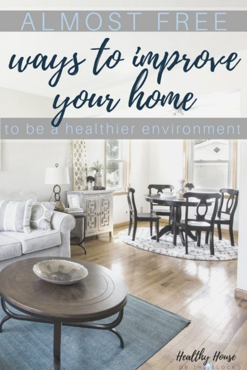 free diy home ideas to reduce environmental toxins