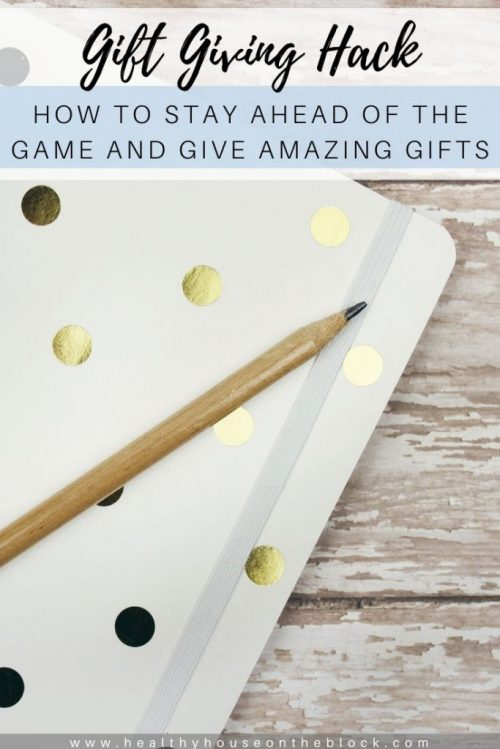 gift idea hack to stay ahead of the giving game this year