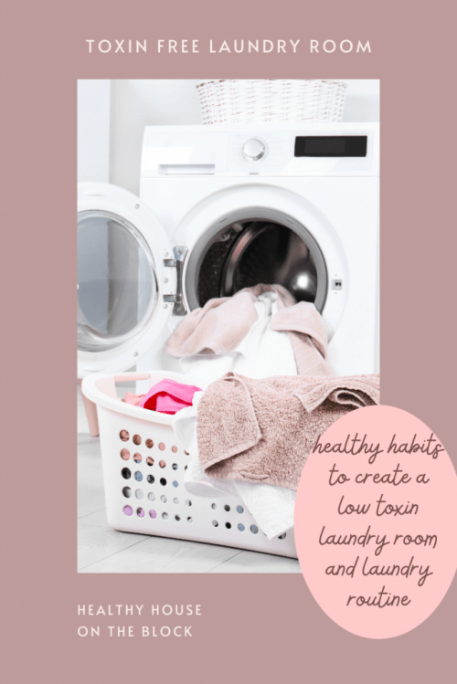 healthy habits that will help you create a healthy laundry room and laundry routine