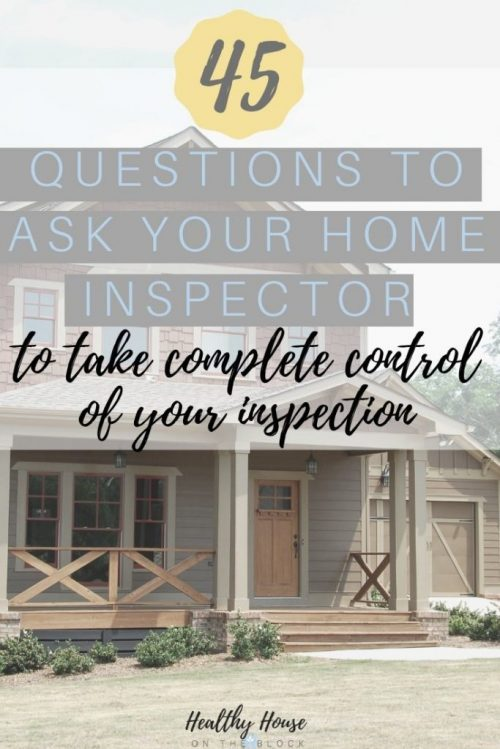 questions you must ask your home inspector