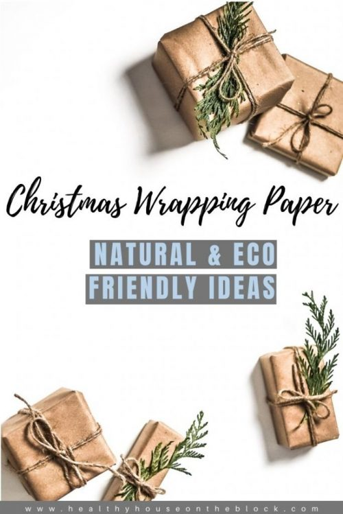 natural and eco friendly christmas wrapping