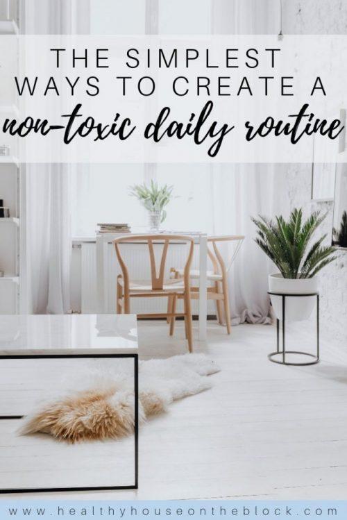 non toxic daily routine ideas