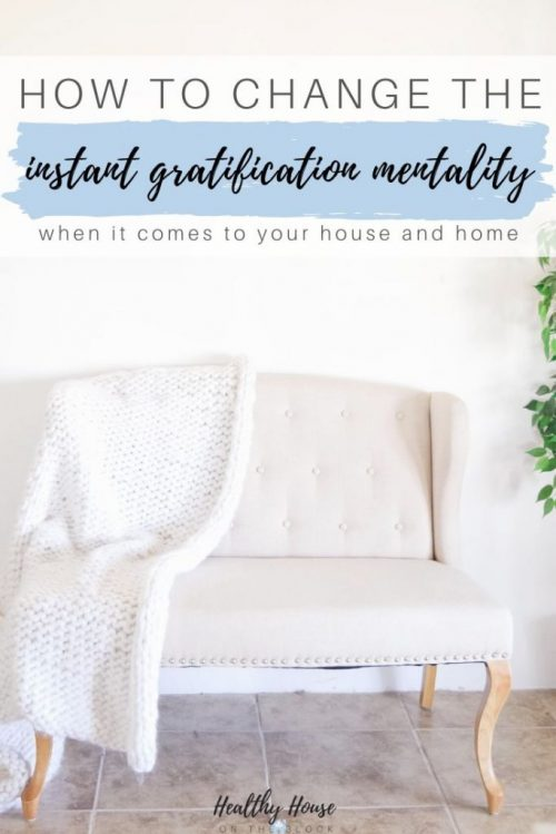 stop instant gratification at home  and create a cozy minimalist home while being an ethical consumer