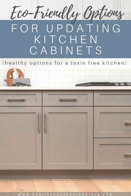 toxin free kitchen cabinets