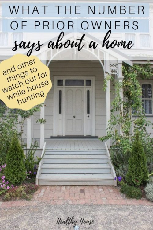 what prior owners say about a house