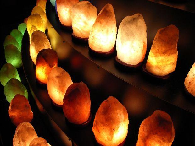 Meditation Room Decor Himalayan Salt Lamps Healing Light