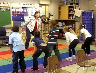 #active classrooms, #physical activity in children, #learning
