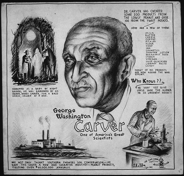 1024px-GEORGE_WASHINGTON_CARVER_-_ONE_OF_AMERICA'S_GREAT_SCIENTISTS_-_NARA_-_535694