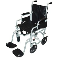 Drive Medical Poly Fly Lightweight Transport Chair ...