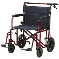Drive Medical Bariatric Aluminum Transport Chair at ...