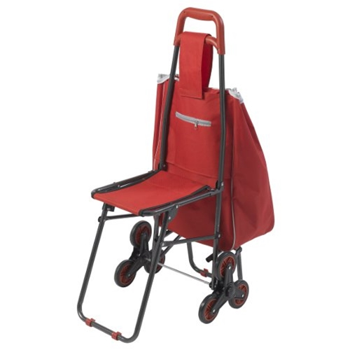 drive medical transport chair kitchen design deluxe rolling shopping cart with seat at healthykin.com