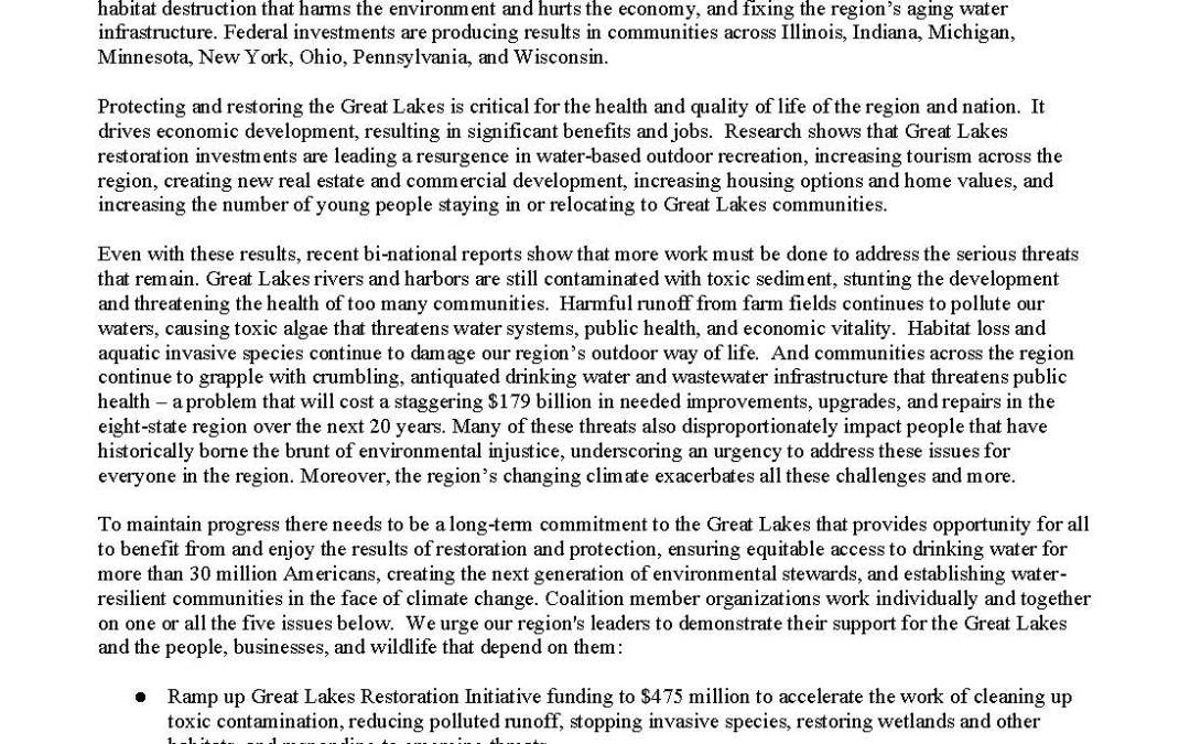 Great Lakes Platform for 2020