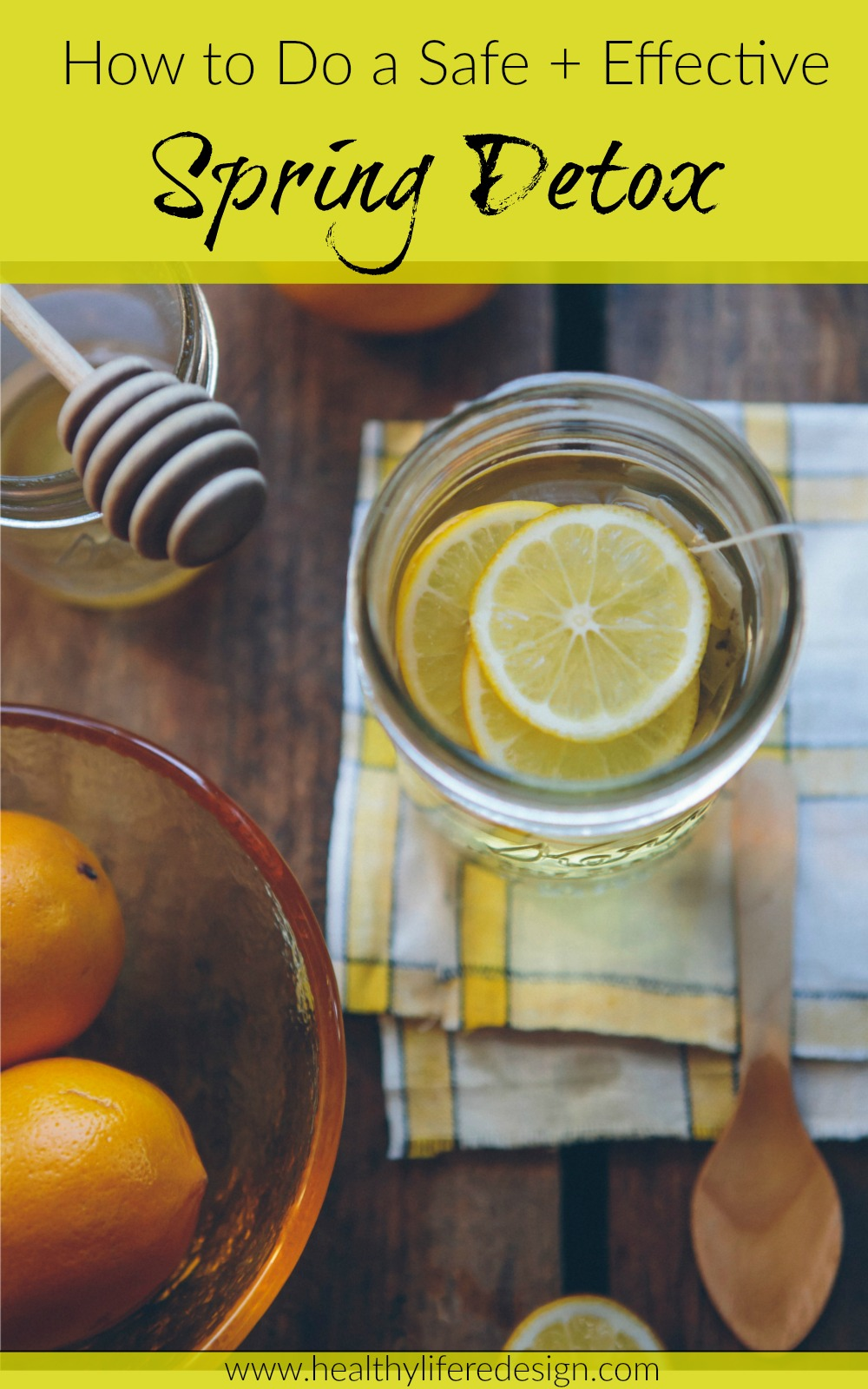 How to do a safe and effective spring detox - A naturopathic doctor-designed guide
