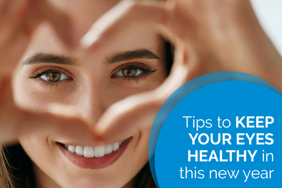 Tips To Keep The Eyes Healthy In This New Year