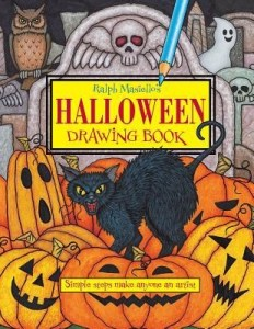 Halloween drawing book