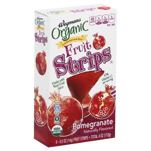 Wegmans Organic Fruit Strips