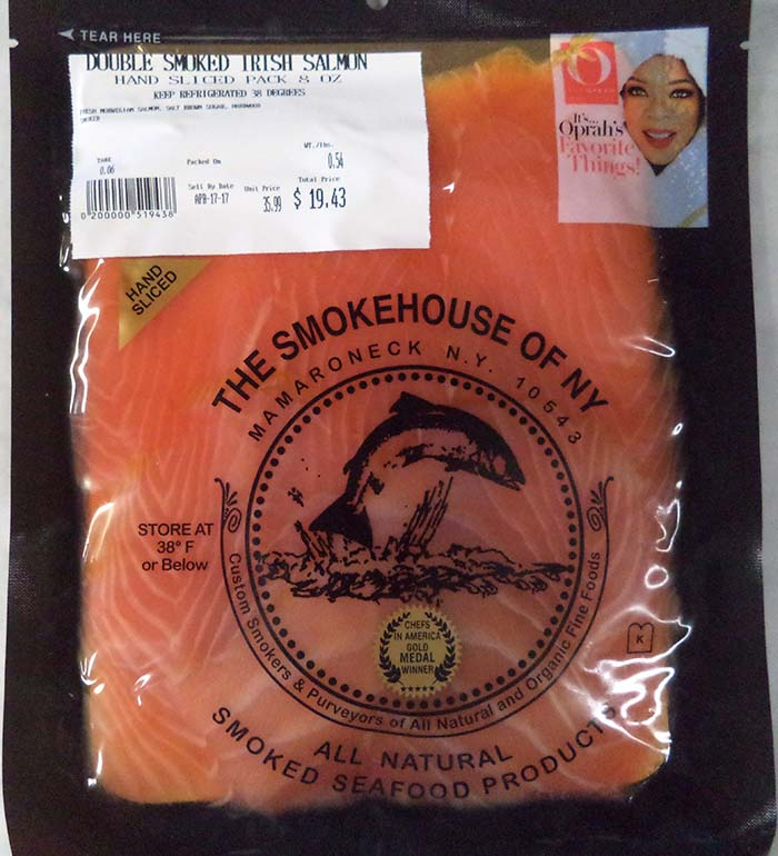 The Smokehouse of NY Recalls Smoked Fish Products