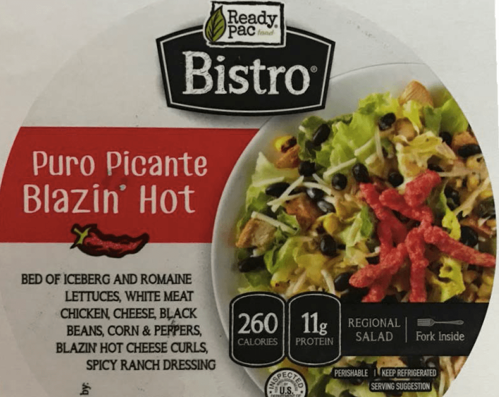Ready Pac Foods Inc. Recalls Chicken Salad Products